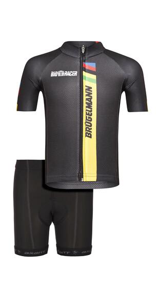 Brügelmann Bioracer Pro Race Set Kids black
